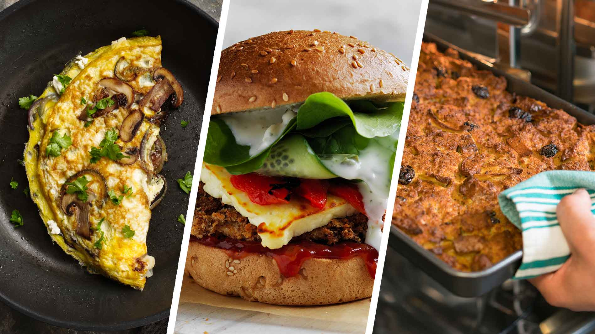 Transform your breakfast, lunch and dinner menu with these gluten free alternatives