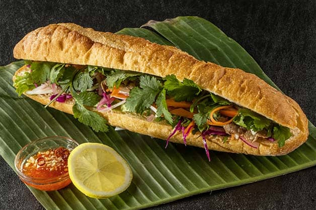 The Vietnamese Grilled Chicken Banh Mii