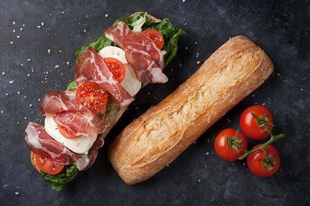 The Prosciutto Baguette