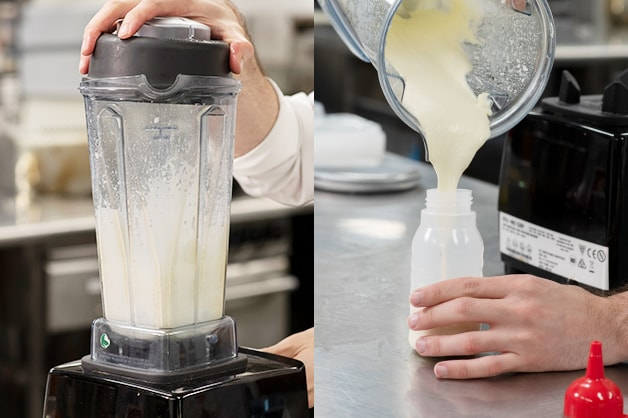 Creating a creamy sauce