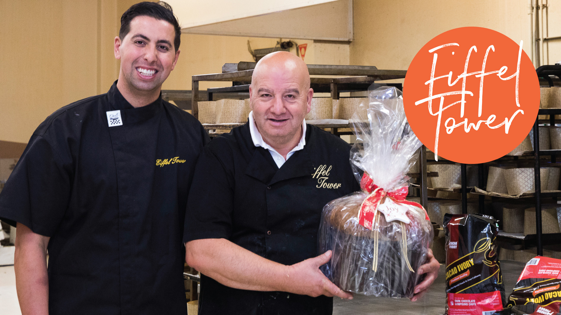 Back Chat With Melbourne's Eiffel Tower Patisserie Owners Joseph & Pasquale Muscatello