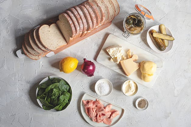 Image of all the raw ingredients for the recipe