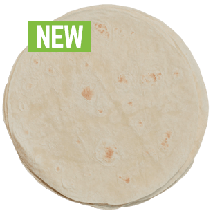 Image of QBA White Tortilla 10 inches
