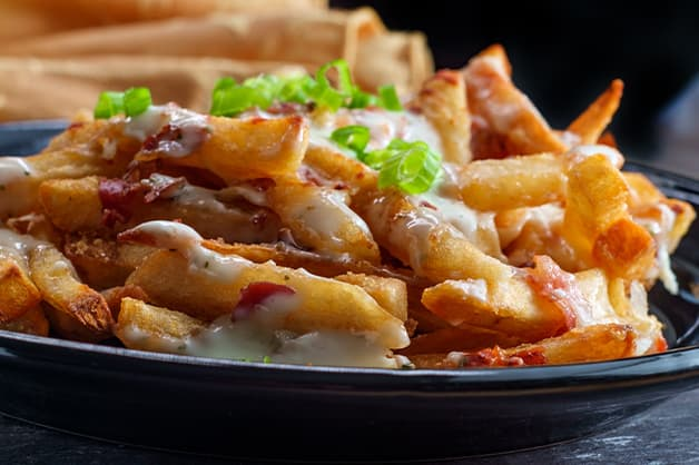 Image of loaded fries