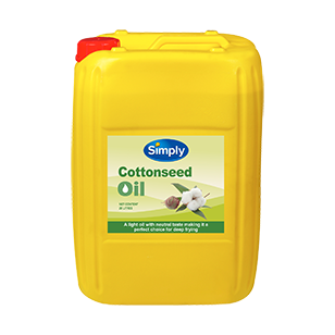 Image of Simply Cottonseed Oil 20L Jerry Can