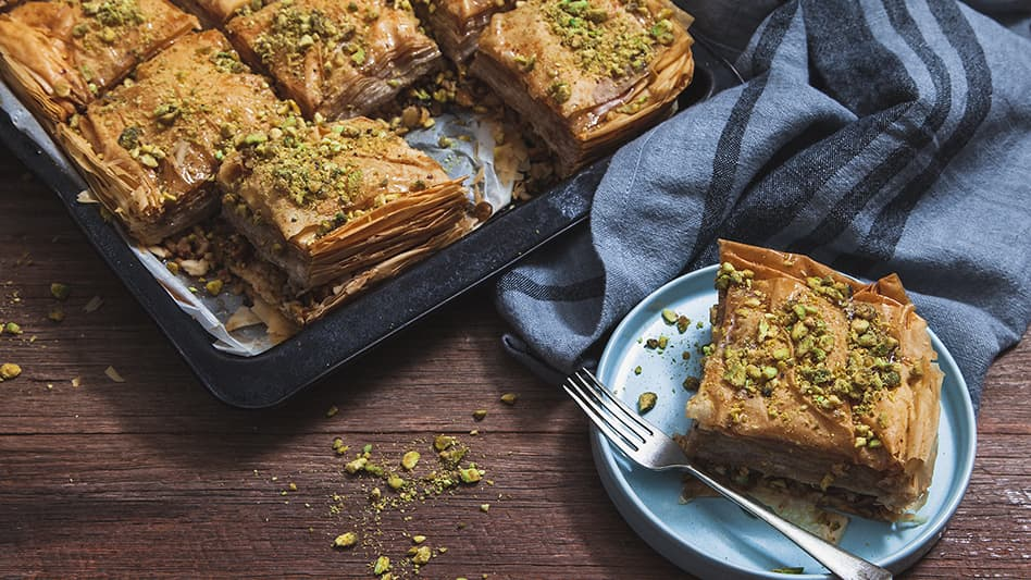 Traditional Lebanese Baklava