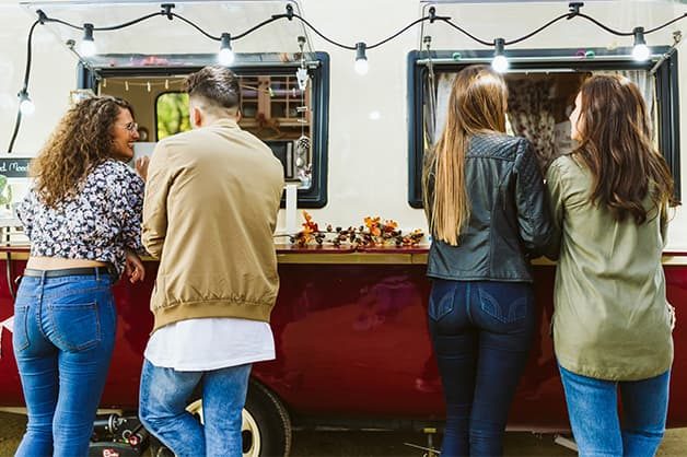 Image of a food truck