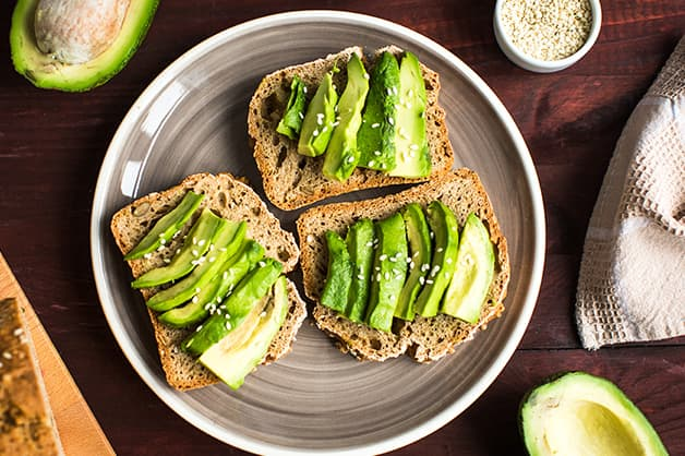 Image of avocado on toast