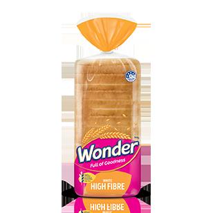 Wonder White Hi Fibre Sandwich 700g