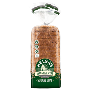 Helga's Square Wholemeal 10 Grains & Seeds 750g product photo