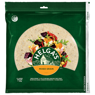 Helga's Mixed Grain 10 Inches 8 Pack