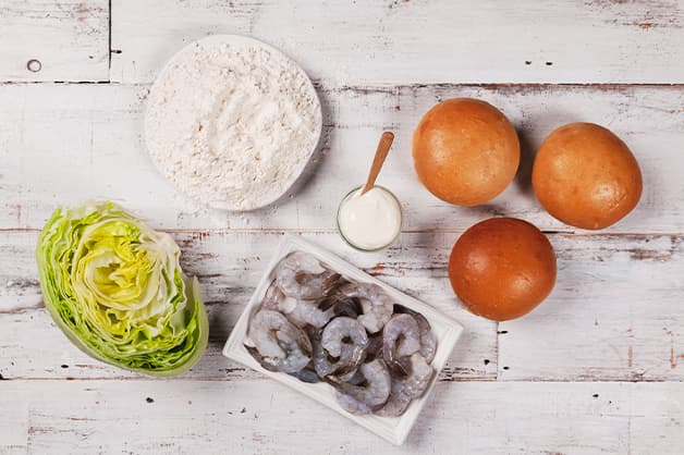 Prawn Burger Ingredients