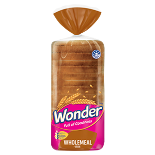 Image of Wonder Wholemeal Smooth Wholemeal & Iron Sandwich 700g
