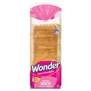 Wonder White Vitamins & Minerals Sandwich 700g