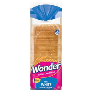 Wonder White Vitamins & Minerals Toast 700g