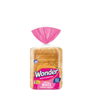 Wonder Mini White Loaf 320g