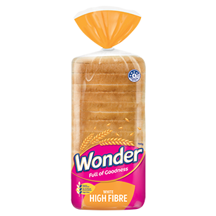 Wonder White Hi Fibre Sandwich 700g product photo