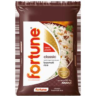 Fortune® Classic Basmati Rice 20KG product photo