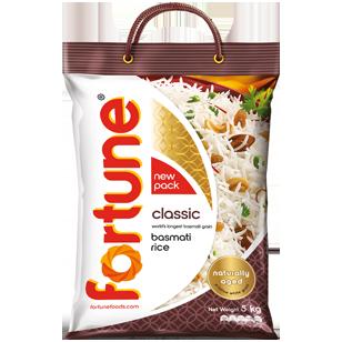 Fortune® Classic Basmati Rice 4X5KG product photo