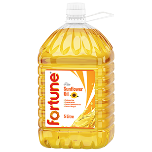 Fortune® Sunflower Oil 4X5L product photo