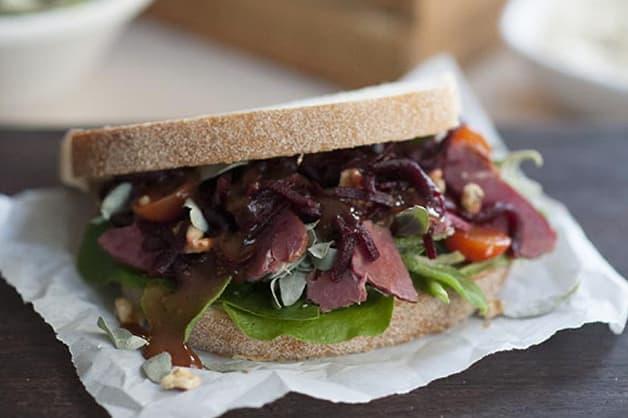 Wattle Seed Mayo Sandwich