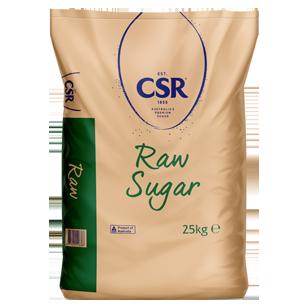 CSR Raw Sugar 25kg product photo